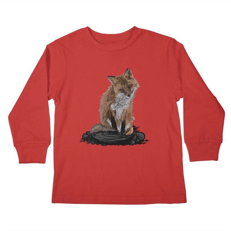 wolves Kids Longsleeve T-Shirt by gupikus's Artist Shop