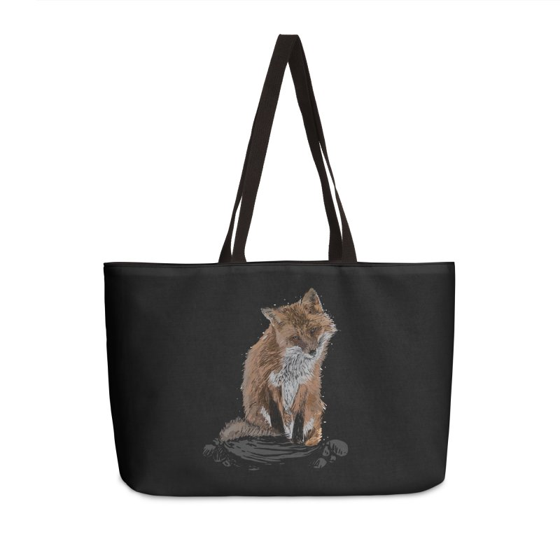 wolves Accessories Weekender Bag Bag by gupikus's Artist Shop