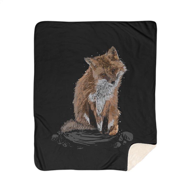 wolves Home Sherpa Blanket Blanket by gupikus's Artist Shop