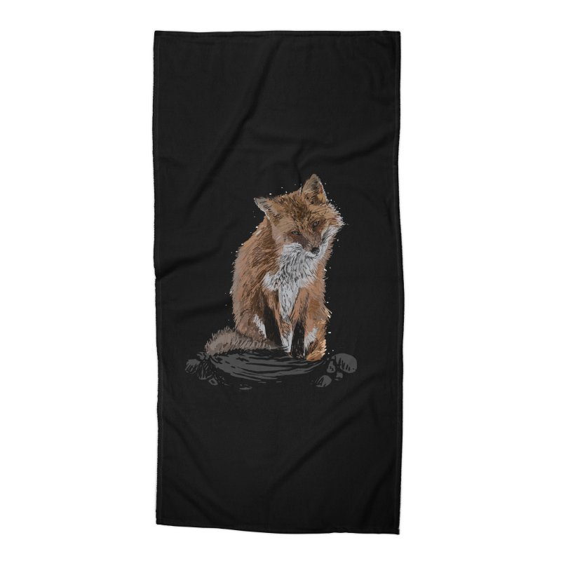 wolves Accessories Beach Towel by gupikus's Artist Shop