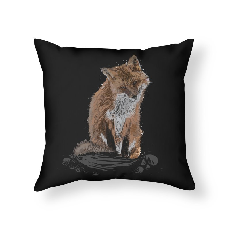 wolves Home Throw Pillow by gupikus's Artist Shop