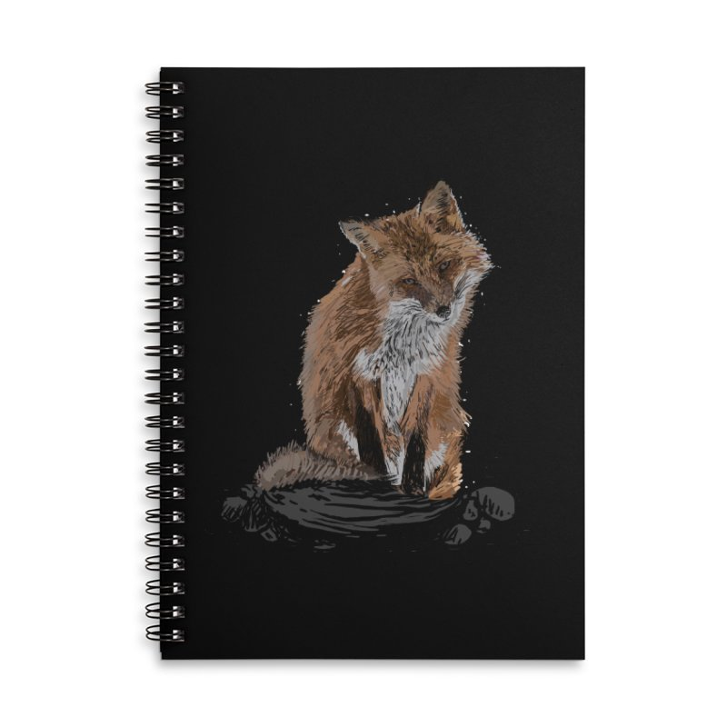 wolves Accessories Lined Spiral Notebook by gupikus's Artist Shop