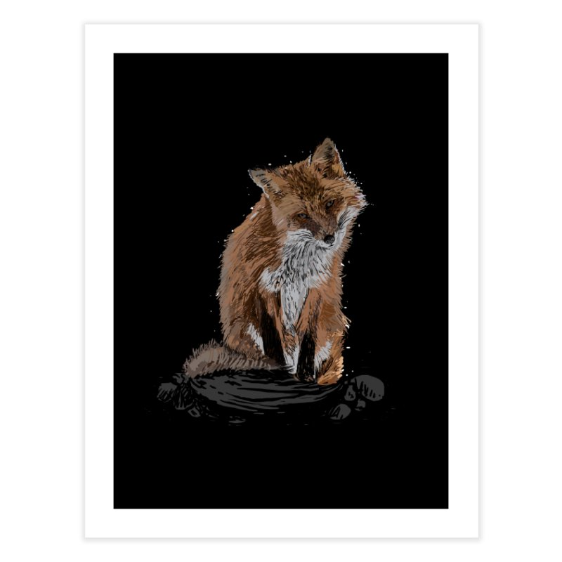 wolves Home Fine Art Print by gupikus's Artist Shop