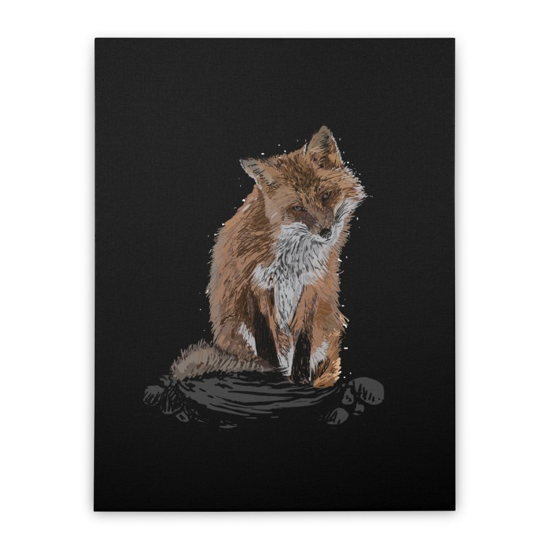wolves Home Stretched Canvas by gupikus's Artist Shop
