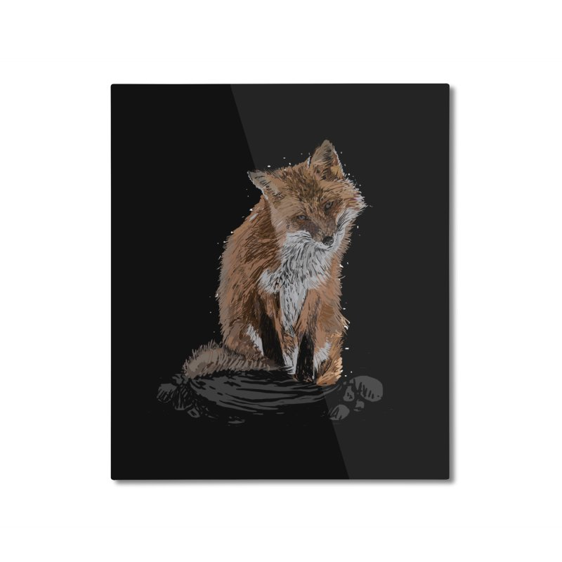 wolves Home Mounted Aluminum Print by gupikus's Artist Shop