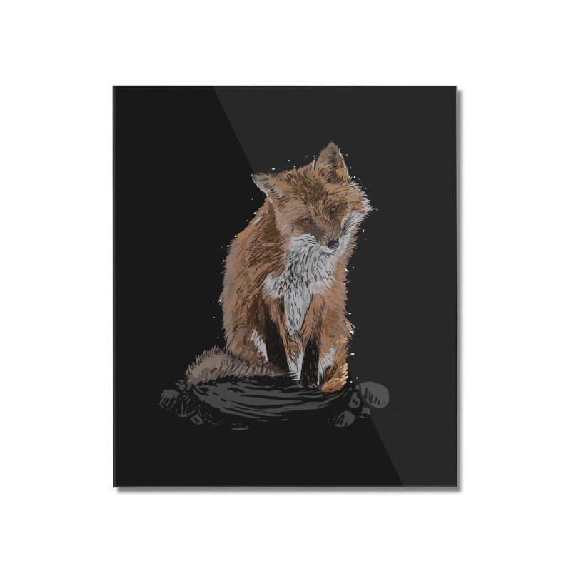 wolves Home Mounted Acrylic Print by gupikus's Artist Shop