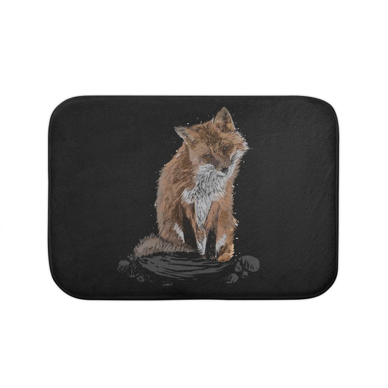 wolves Home Bath Mat by gupikus's Artist Shop