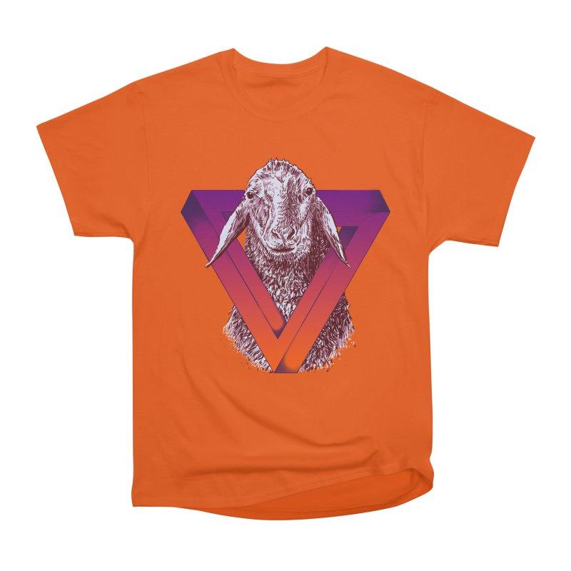 goat Women's Heavyweight Unisex T-Shirt by gupikus's Artist Shop