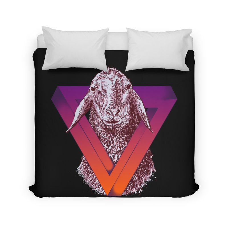 goat Home Duvet by gupikus's Artist Shop
