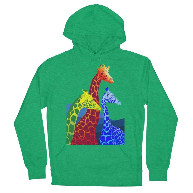 giraffe fams Men's Pullover Hoody by gupikus's Artist Shop