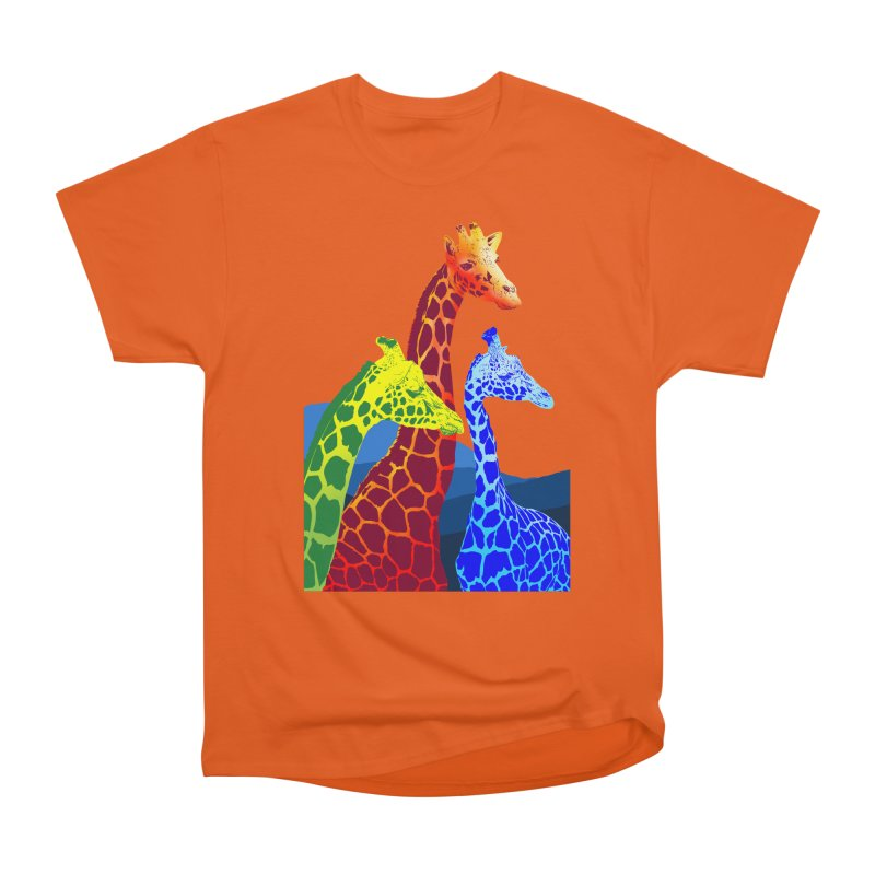 giraffe fams Men's Classic T-Shirt by gupikus's Artist Shop
