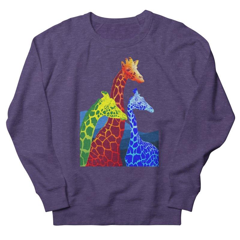 giraffe fams Women's French Terry Sweatshirt by gupikus's Artist Shop