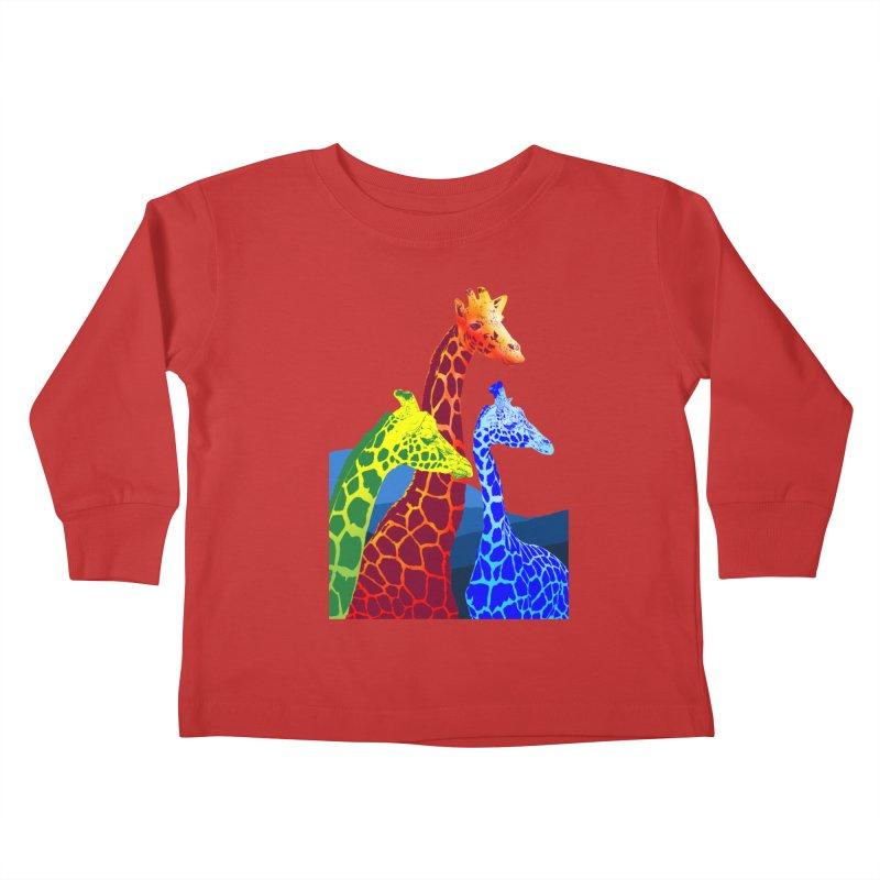giraffe fams Kids  by gupikus's Artist Shop