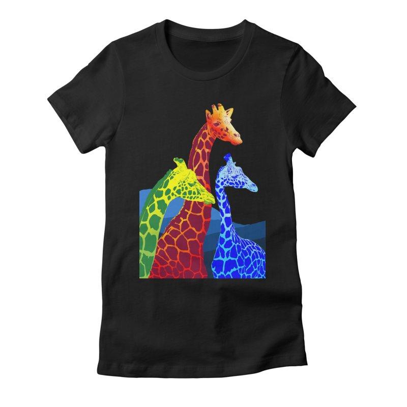giraffe fams Women's  by gupikus's Artist Shop