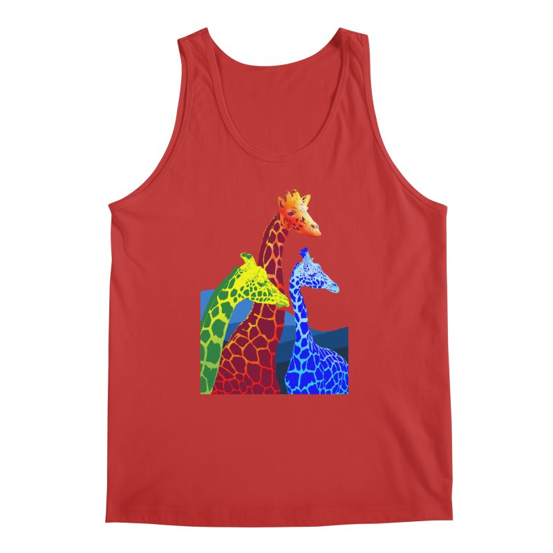 giraffe fams Men's Tank by gupikus's Artist Shop