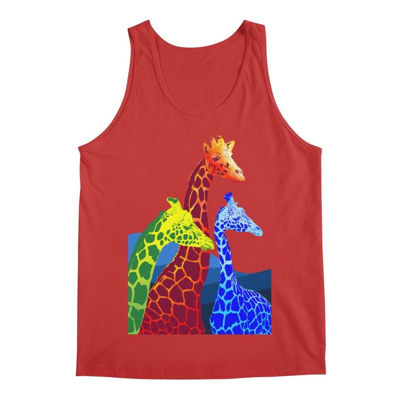 giraffe fams Men's Regular Tank by gupikus's Artist Shop