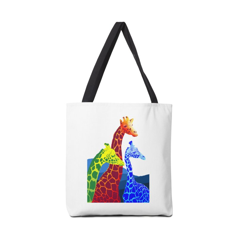 giraffe fams Accessories Tote Bag Bag by gupikus's Artist Shop