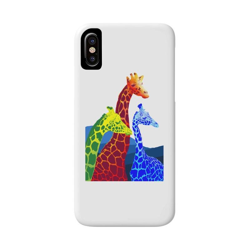 giraffe fams Accessories Phone Case by gupikus's Artist Shop