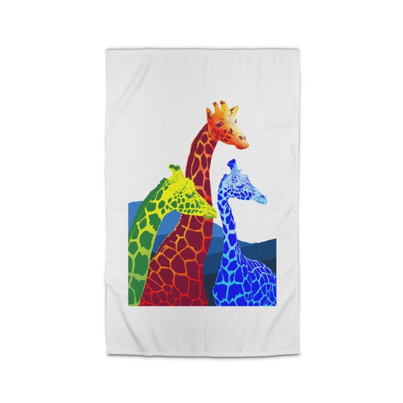 giraffe fams Home Rug by gupikus's Artist Shop