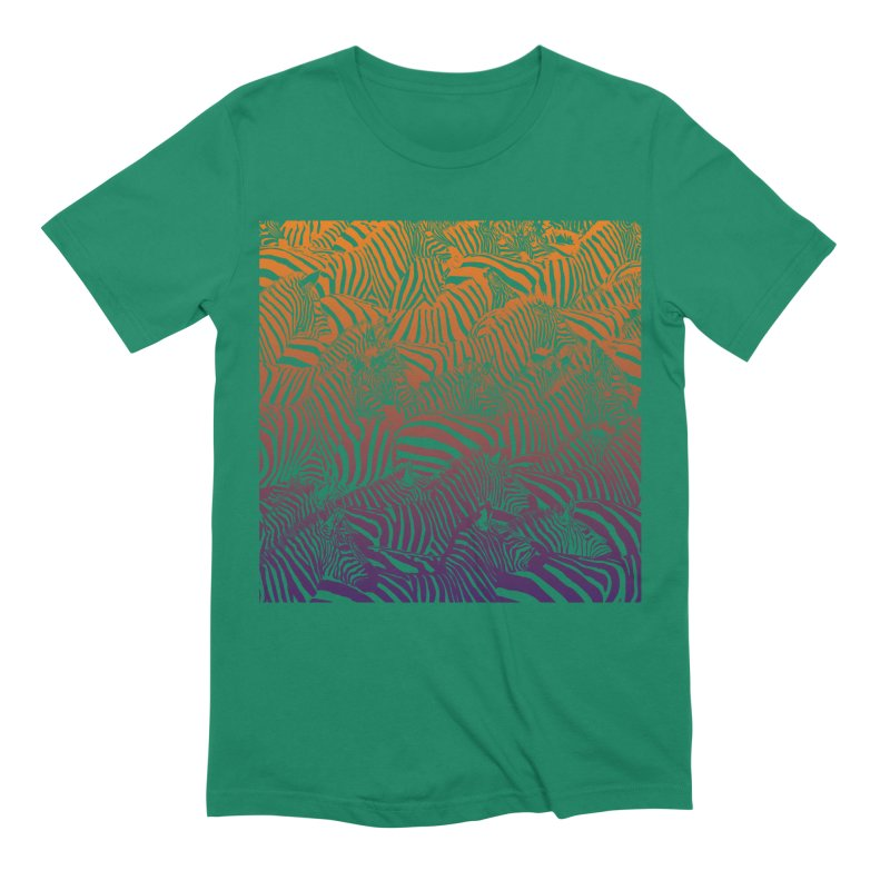 zebras Men's Extra Soft T-Shirt by gupikus's Artist Shop