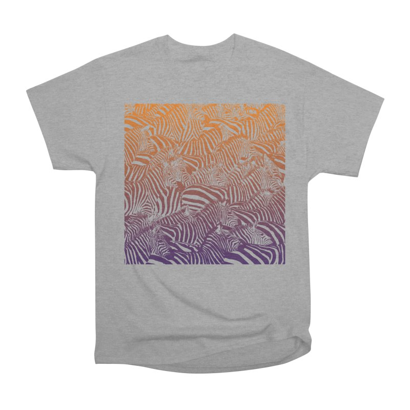 zebras Women's Classic Unisex T-Shirt by gupikus's Artist Shop
