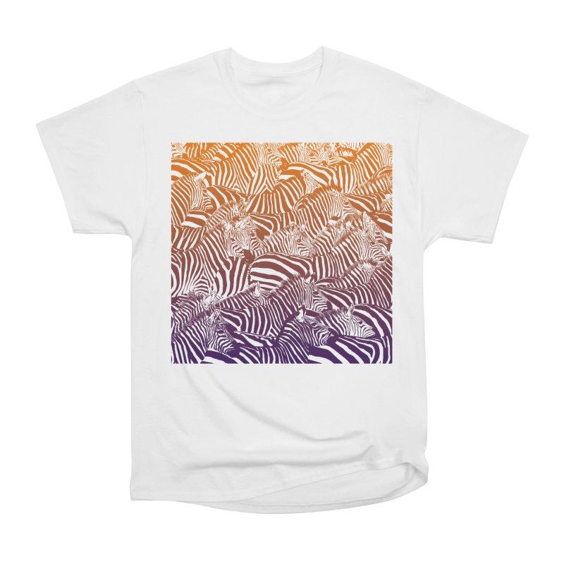 zebras Women's Heavyweight Unisex T-Shirt by gupikus's Artist Shop