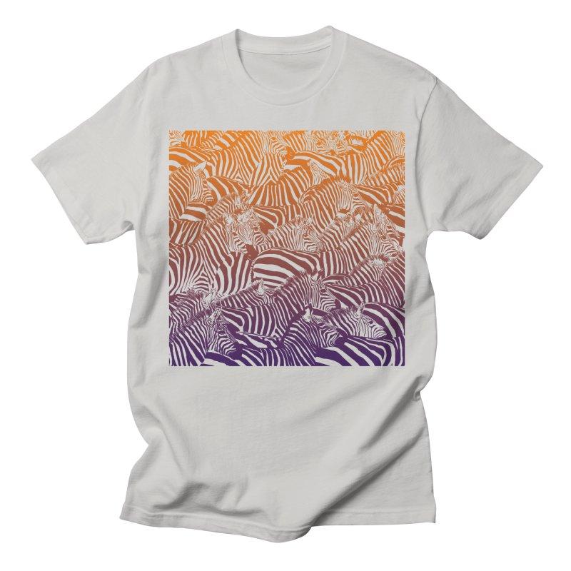 zebras Women's Unisex T-Shirt by gupikus's Artist Shop