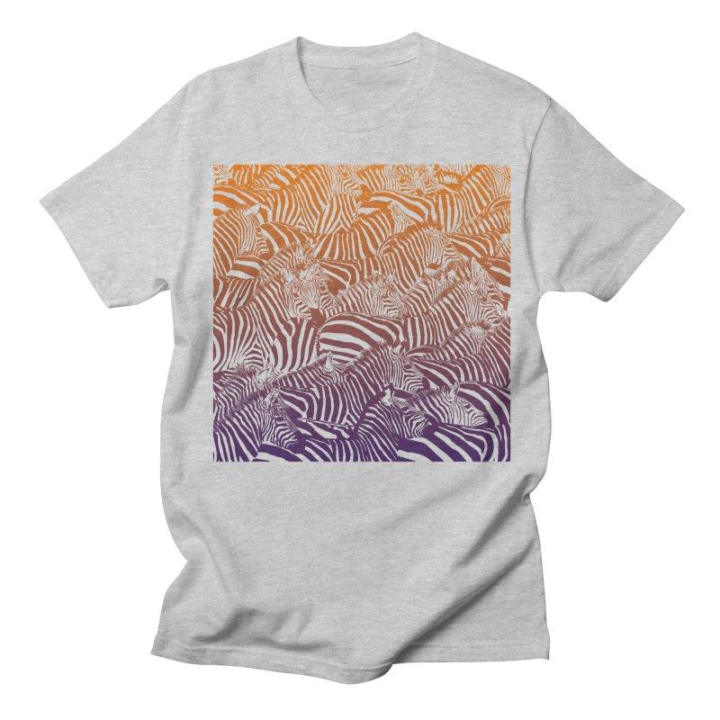 zebras Women's Regular Unisex T-Shirt by gupikus's Artist Shop