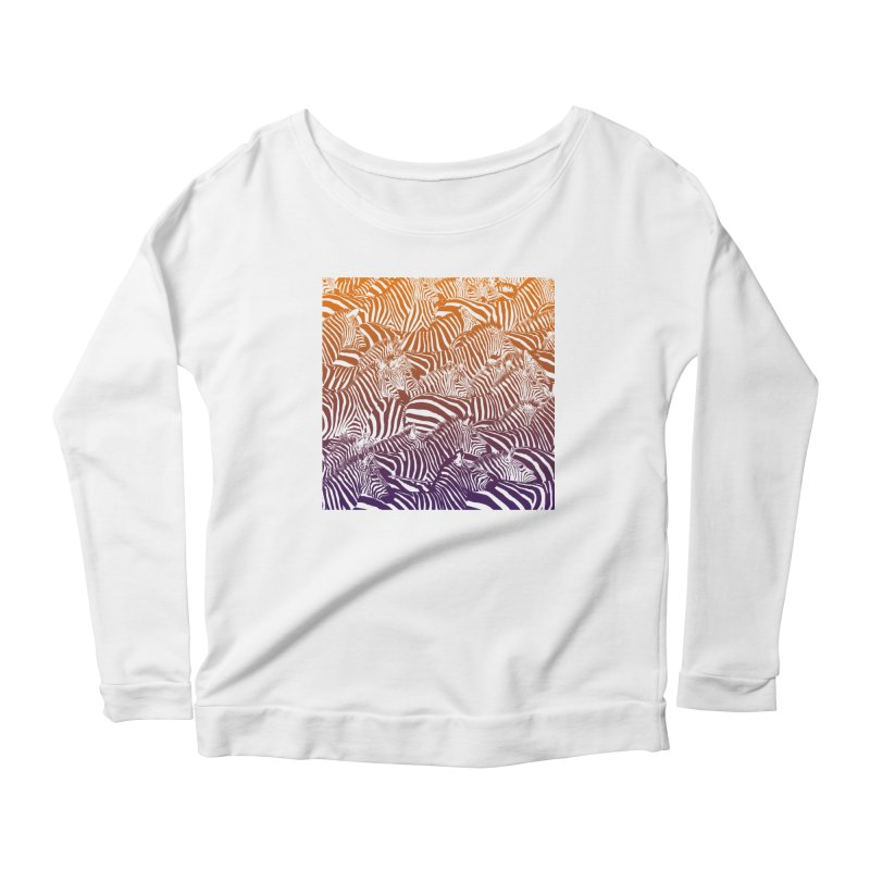 zebras Women's Longsleeve T-Shirt by gupikus's Artist Shop