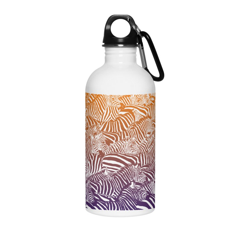 zebras Accessories Water Bottle by gupikus's Artist Shop
