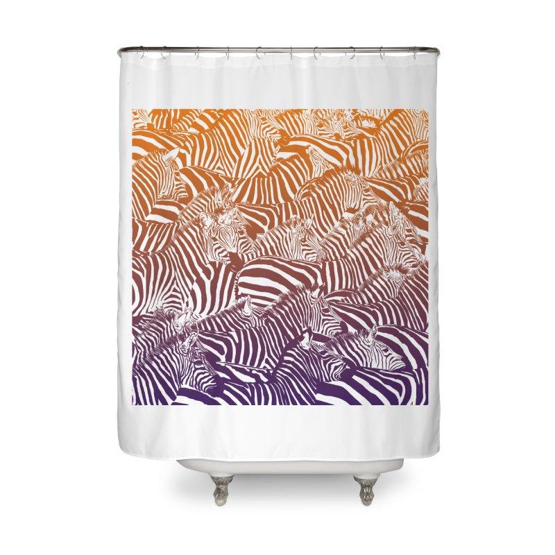 zebras Home Shower Curtain by gupikus's Artist Shop
