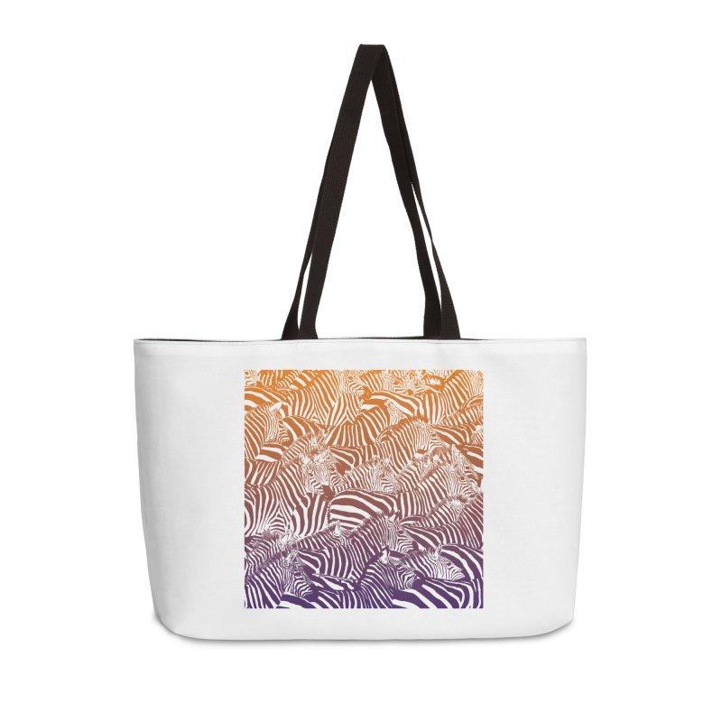 zebras Accessories Weekender Bag Bag by gupikus's Artist Shop