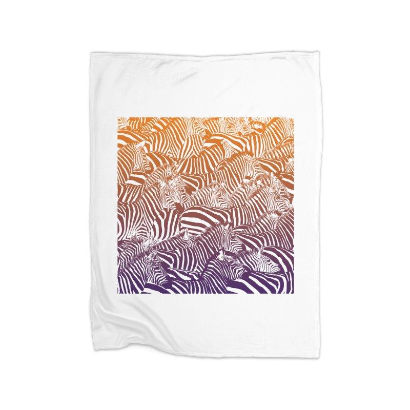 zebras Home Blanket by gupikus's Artist Shop