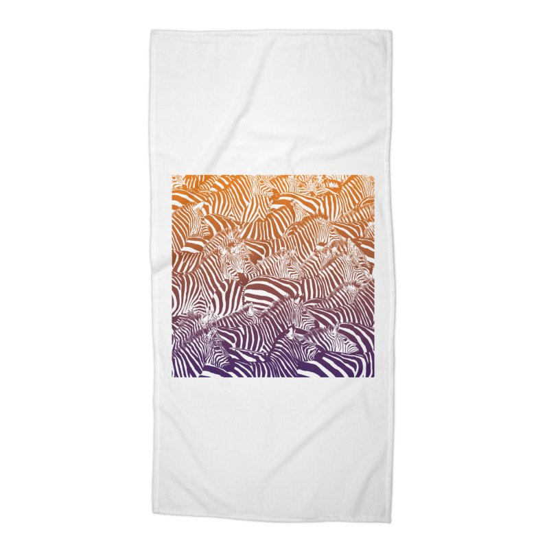 zebras Accessories Beach Towel by gupikus's Artist Shop