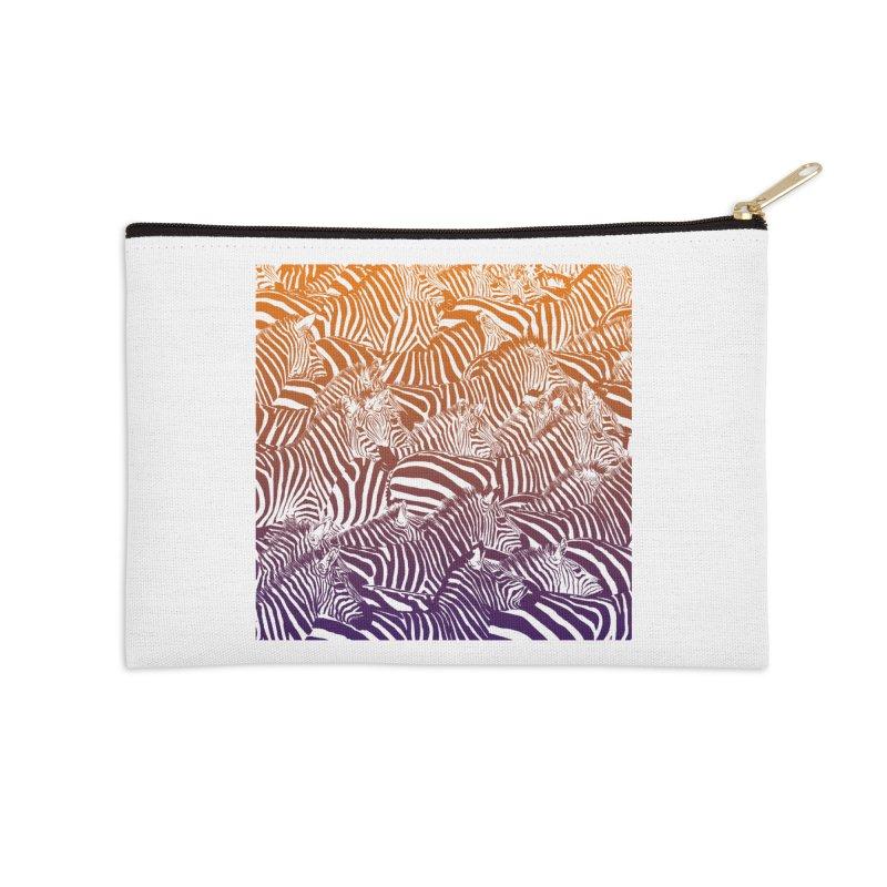 zebras Accessories Zip Pouch by gupikus's Artist Shop