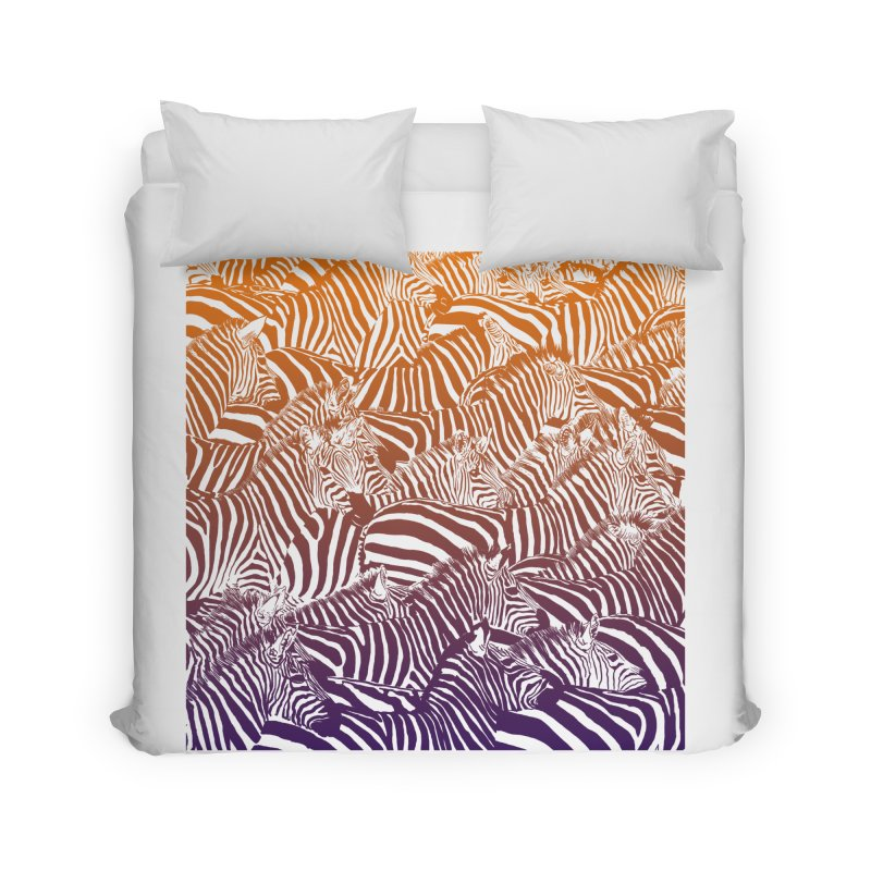 zebras Home Duvet by gupikus's Artist Shop