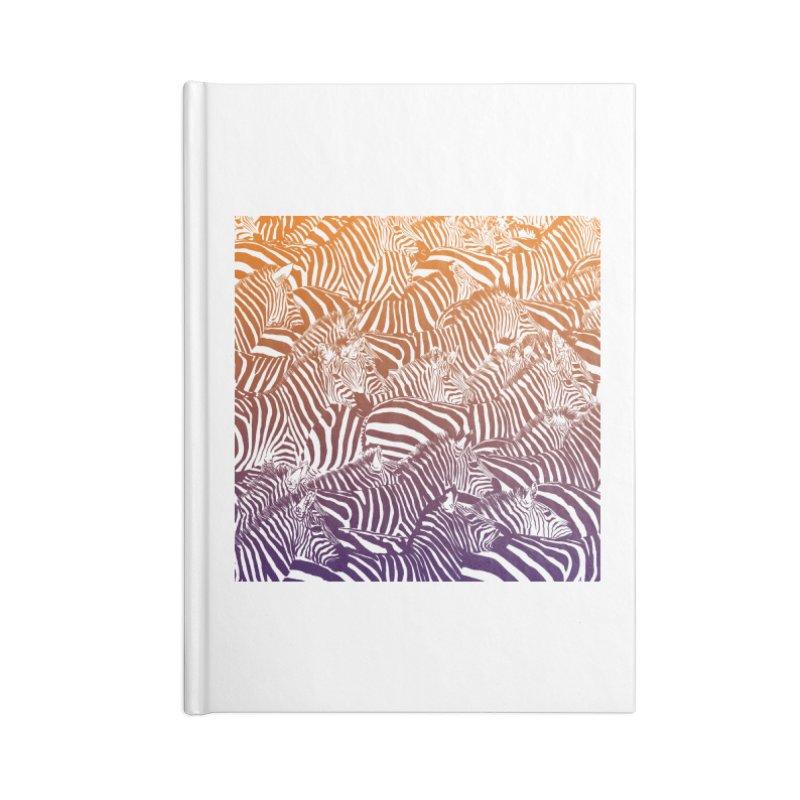 zebras Accessories Notebook by gupikus's Artist Shop