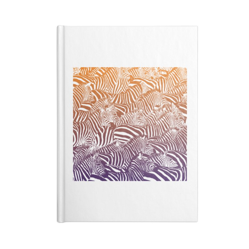 zebras Accessories Blank Journal Notebook by gupikus's Artist Shop