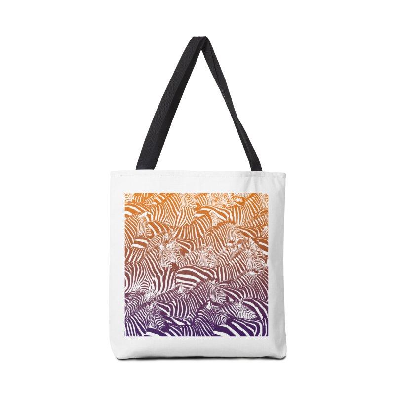 zebras Accessories Bag by gupikus's Artist Shop