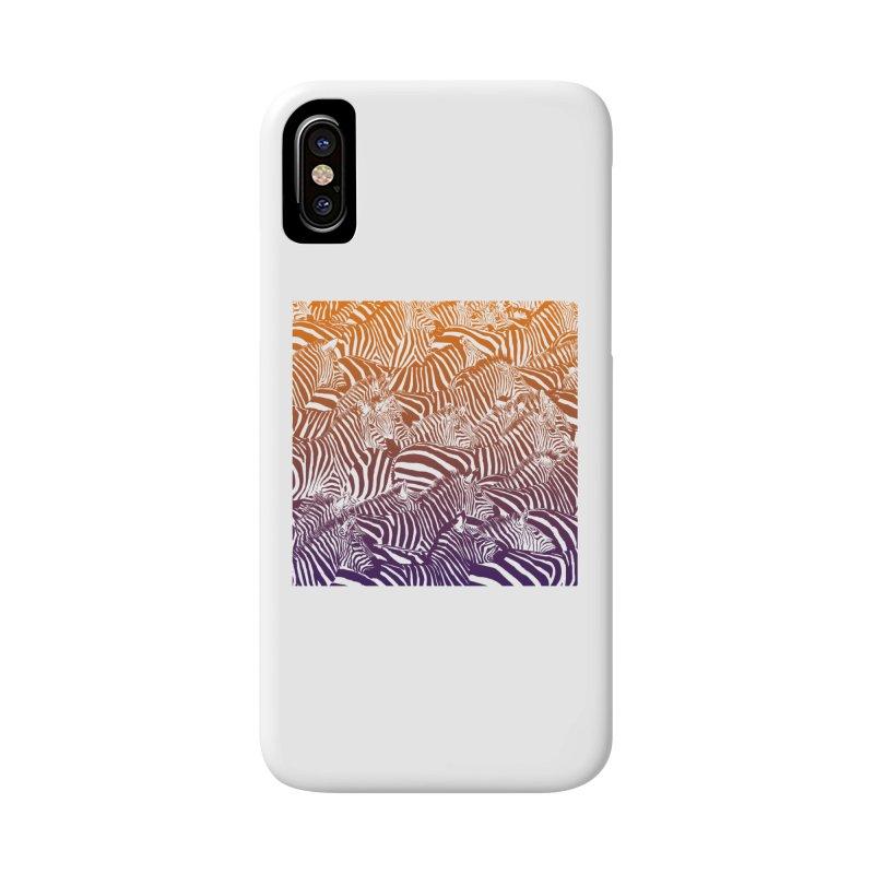 zebras Accessories Phone Case by gupikus's Artist Shop