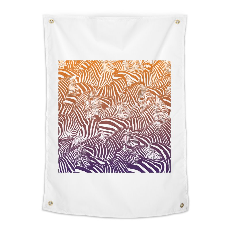 zebras Home Tapestry by gupikus's Artist Shop