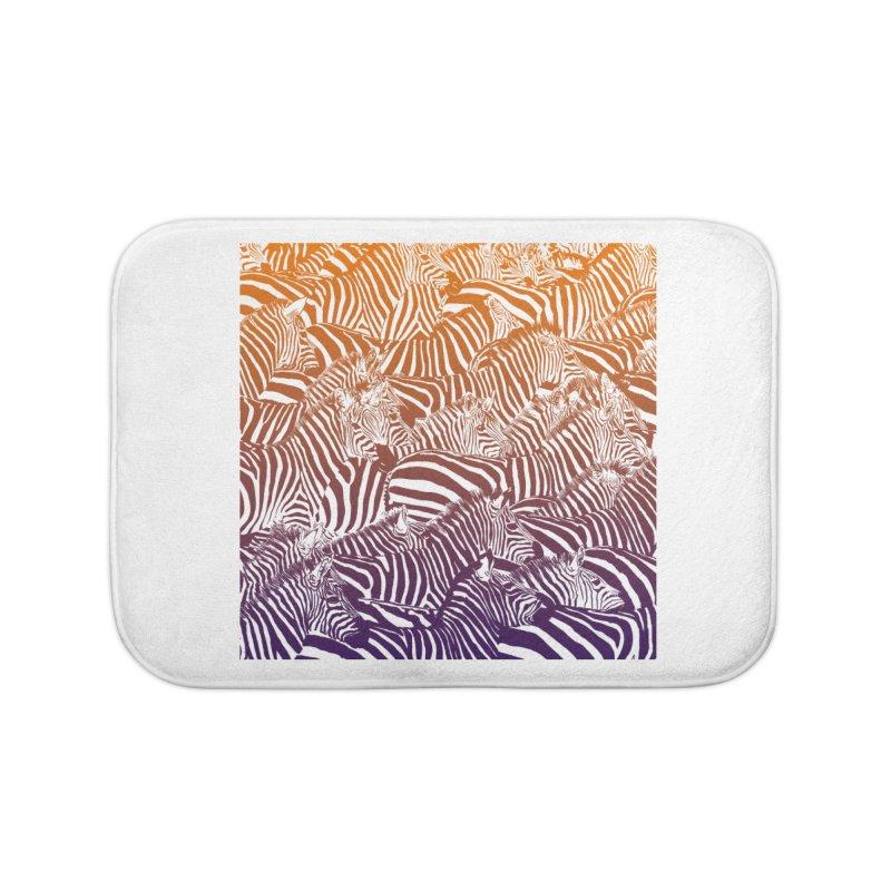 zebras Home Bath Mat by gupikus's Artist Shop