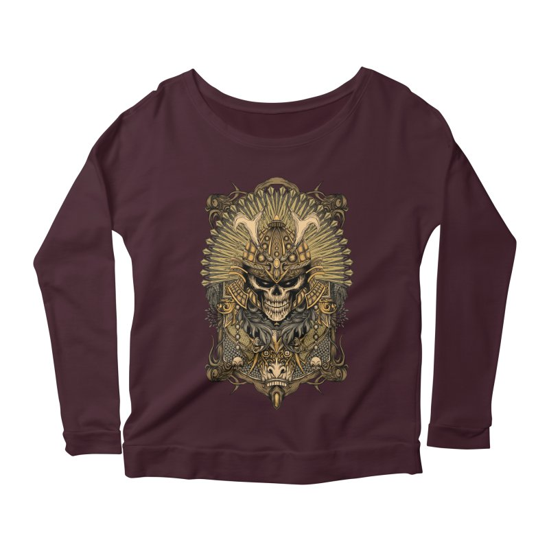 ornamental samurai skull Women's  by gupikus's Artist Shop