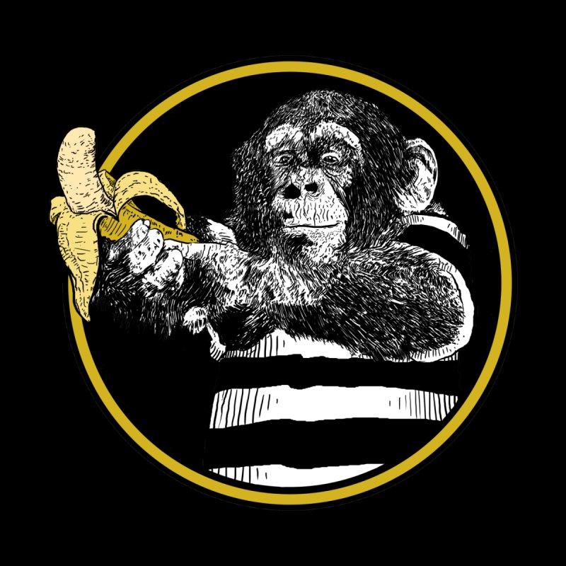 monkey and banana by gupikus's Artist Shop