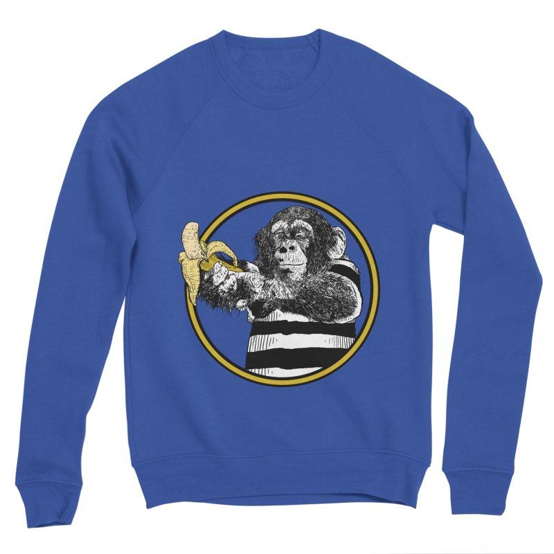 monkey and banana Women's Sweatshirt by gupikus's Artist Shop