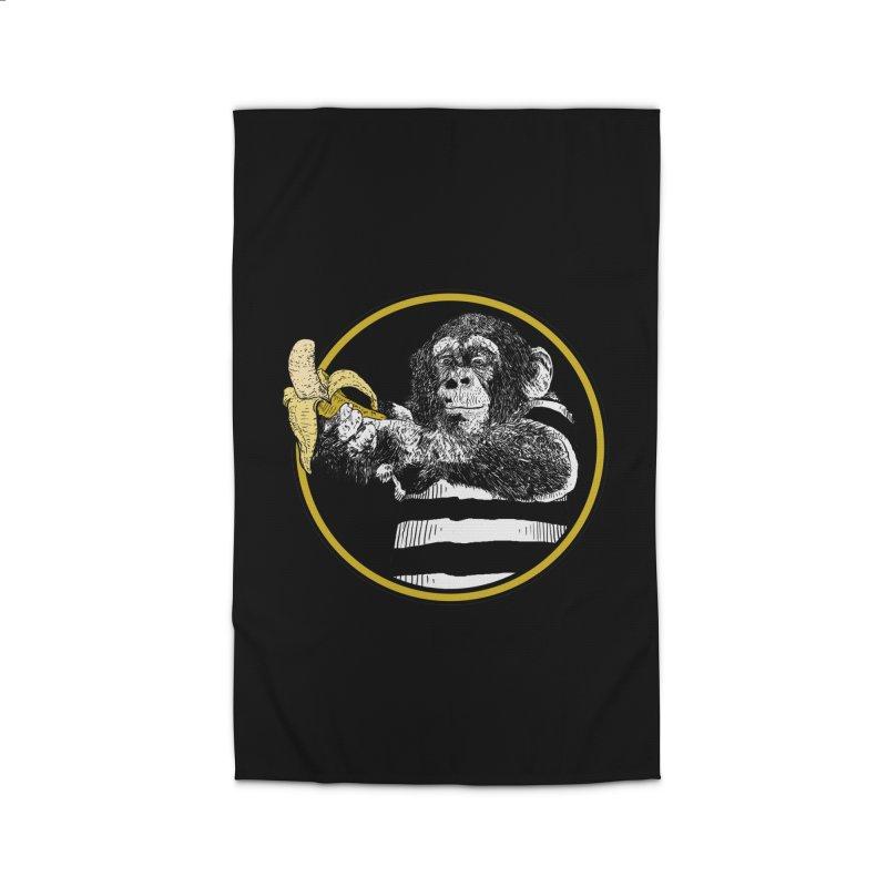 monkey and banana Home Rug by gupikus's Artist Shop