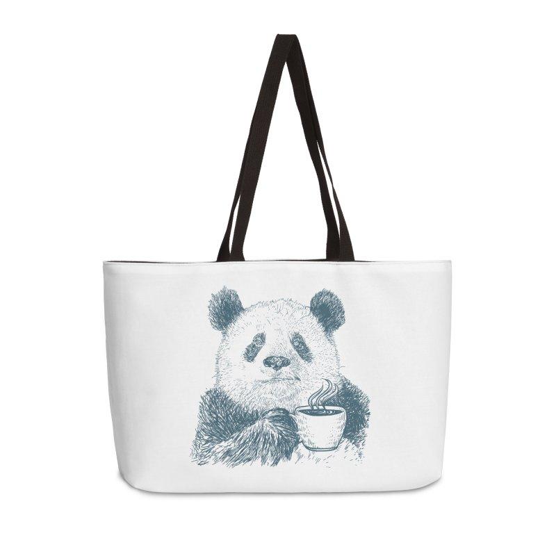 coffee panda Accessories Weekender Bag Bag by gupikus's Artist Shop