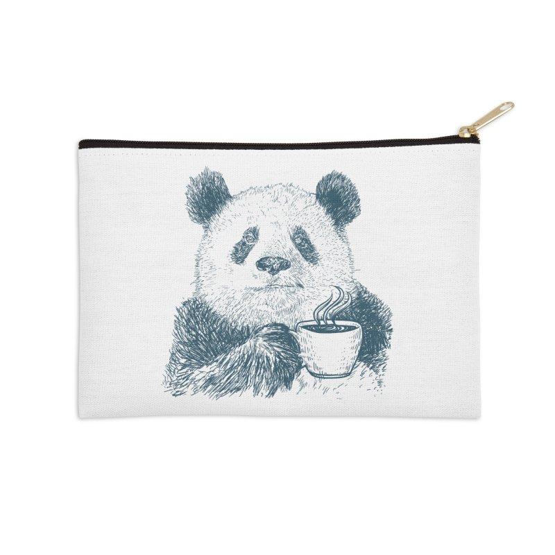 coffee panda Accessories Zip Pouch by gupikus's Artist Shop