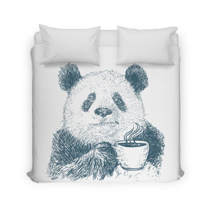 coffee panda Home Duvet by gupikus's Artist Shop