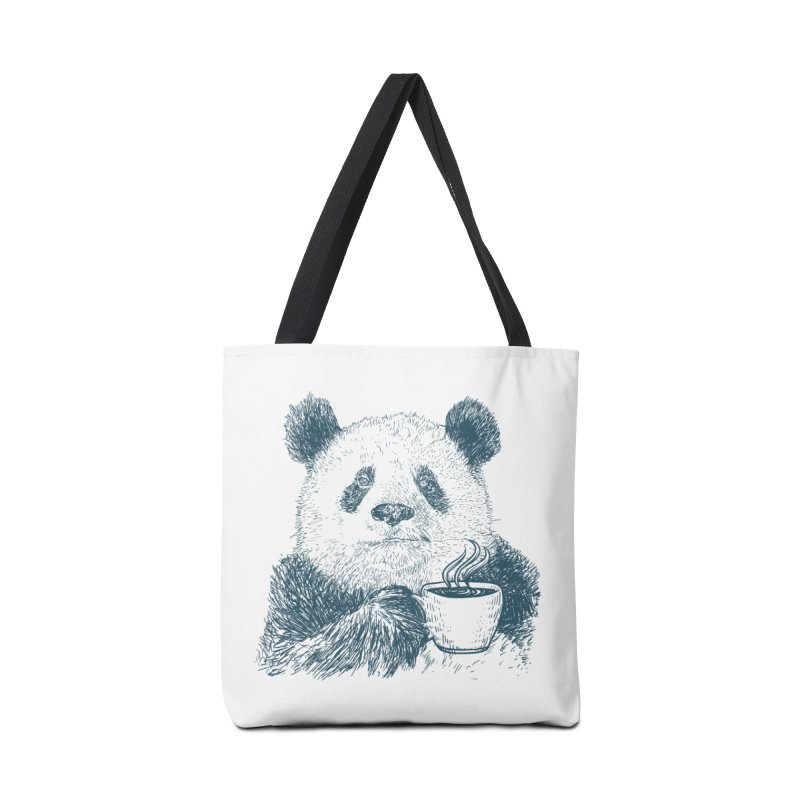 coffee panda Accessories Tote Bag Bag by gupikus's Artist Shop